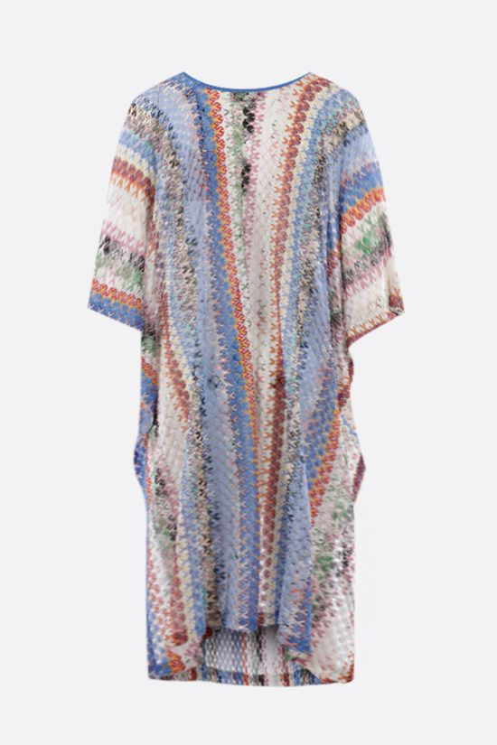 MISSONI: graphic-motif lightweight knit caftan Color Multicolor_2