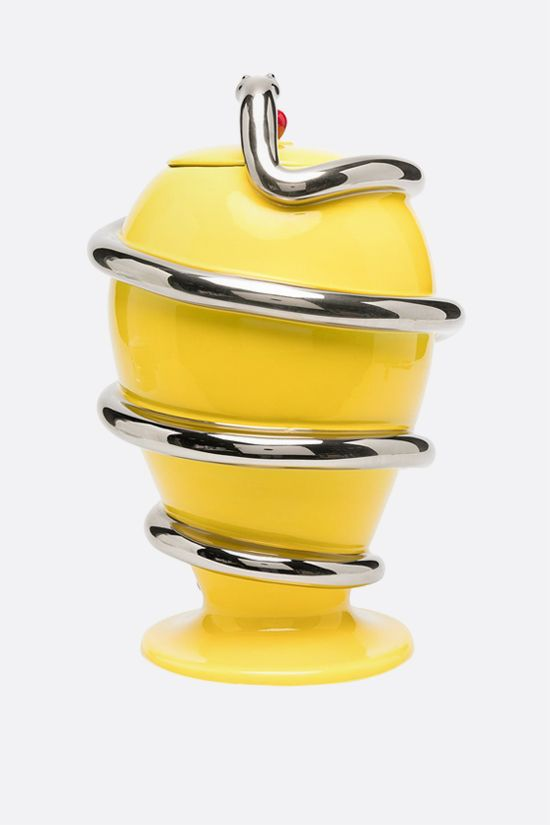 FORNASETTI: Peccato Originale ceramic vase Color Yellow_2