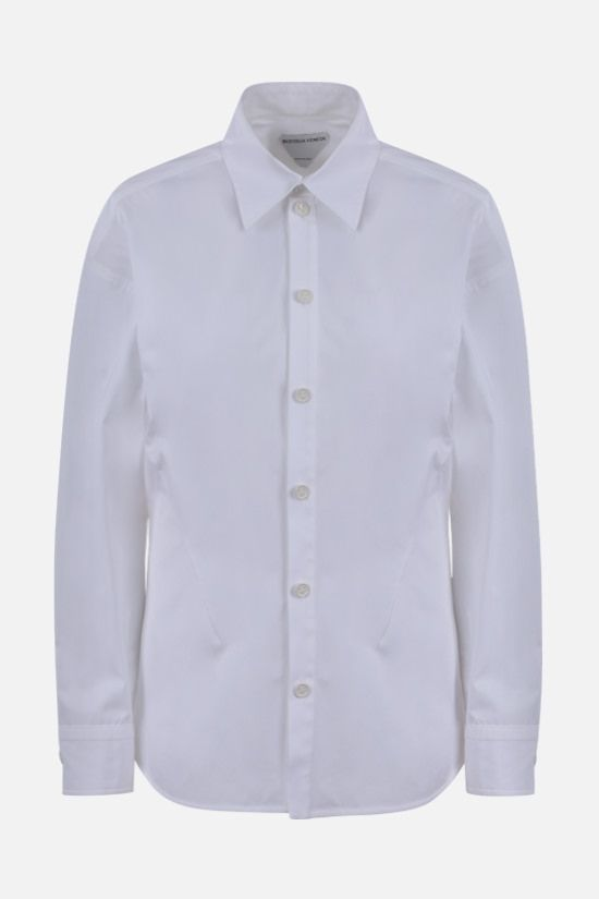 BOTTEGA VENETA: stretch cotton shirt Color White_1