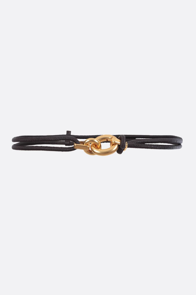 BOTTEGA VENETA: soft nappa elasticated belt_1