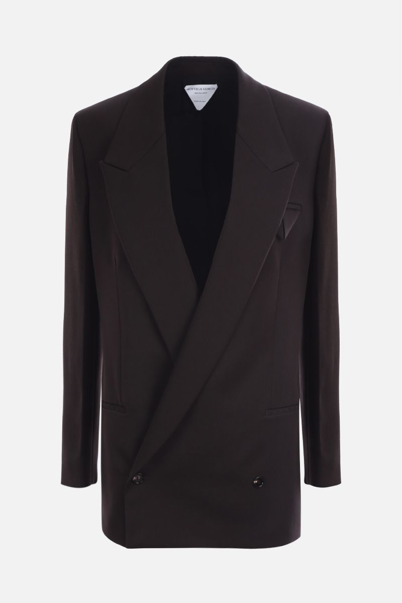BOTTEGA VENETA: wool oversize double-breasted jacket_1