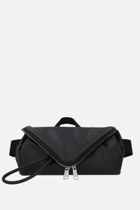 BOTTEGA VENETA: Beak smooth leather belt bag Color Black_1