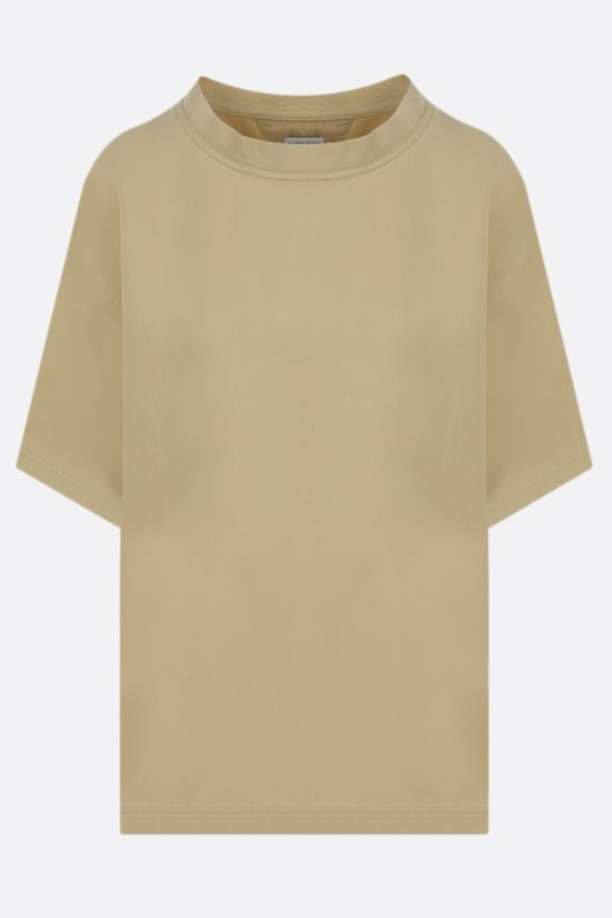 BOTTEGA VENETA: silk twill t-shirt Color White_1
