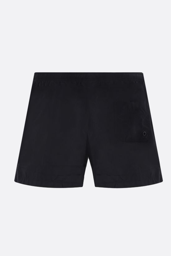 MARCELO BURLON COUNTY OF MILAN: Cross nylon swim shorts Color Black_2