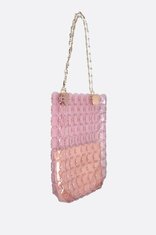 PACO RABANNE: tote bag with PVC dics Color Pink_2