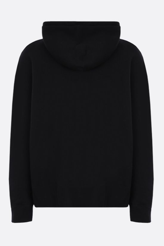 PALM ANGELS: Bear oversize cotton hoodie Color Black_2