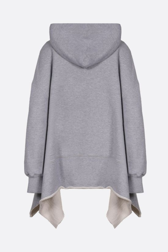 PALM ANGELS: Daisy Logo oversize cotton hoodie Color Grey_2