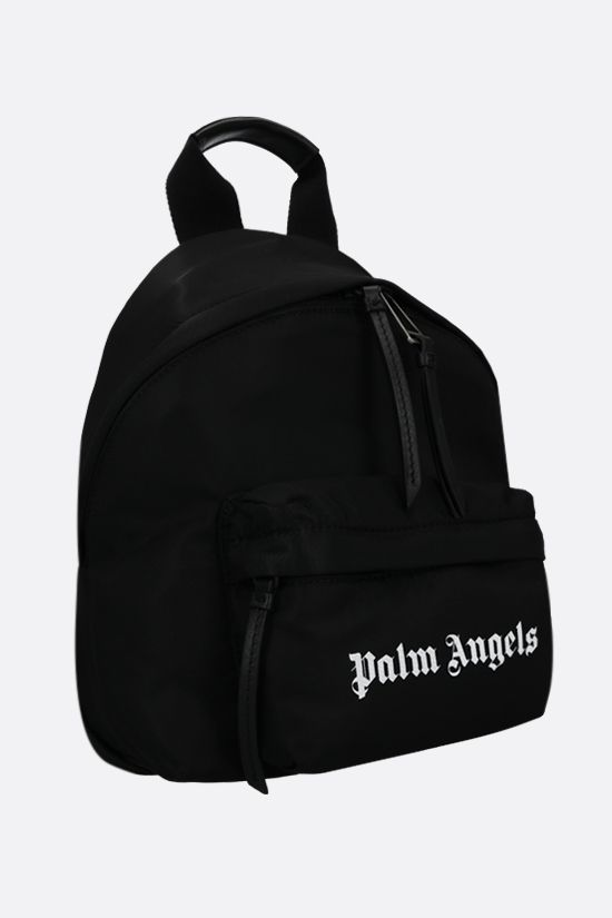 PALM ANGELS: Essential nylon backpack Color Black_2
