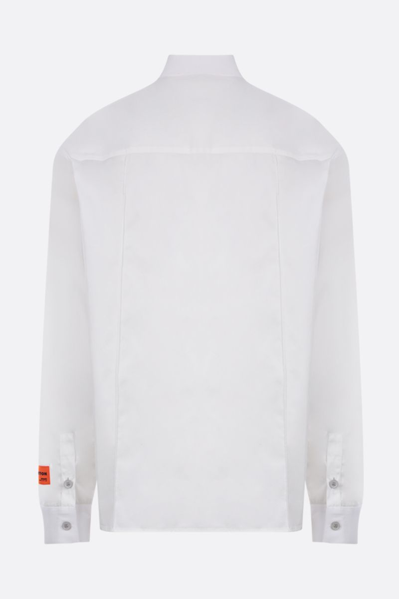 HERON PRESTON: printed cotton shirt Color Multicolor_2