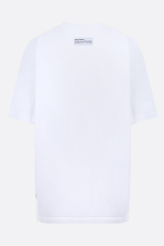 HERON PRESTON: Periodic Heron oversize cotton t-shirt Color White_2