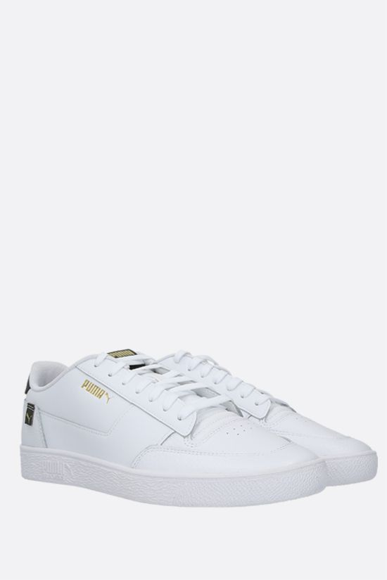 PUMA: Ralph Sampson MC Pop sneakers in smooth and grainy leather Color White_2