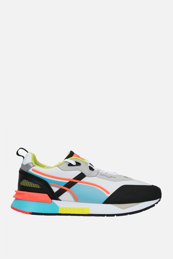 PUMA: Mirage Tech sneakers in fabric and mesh Color White_1