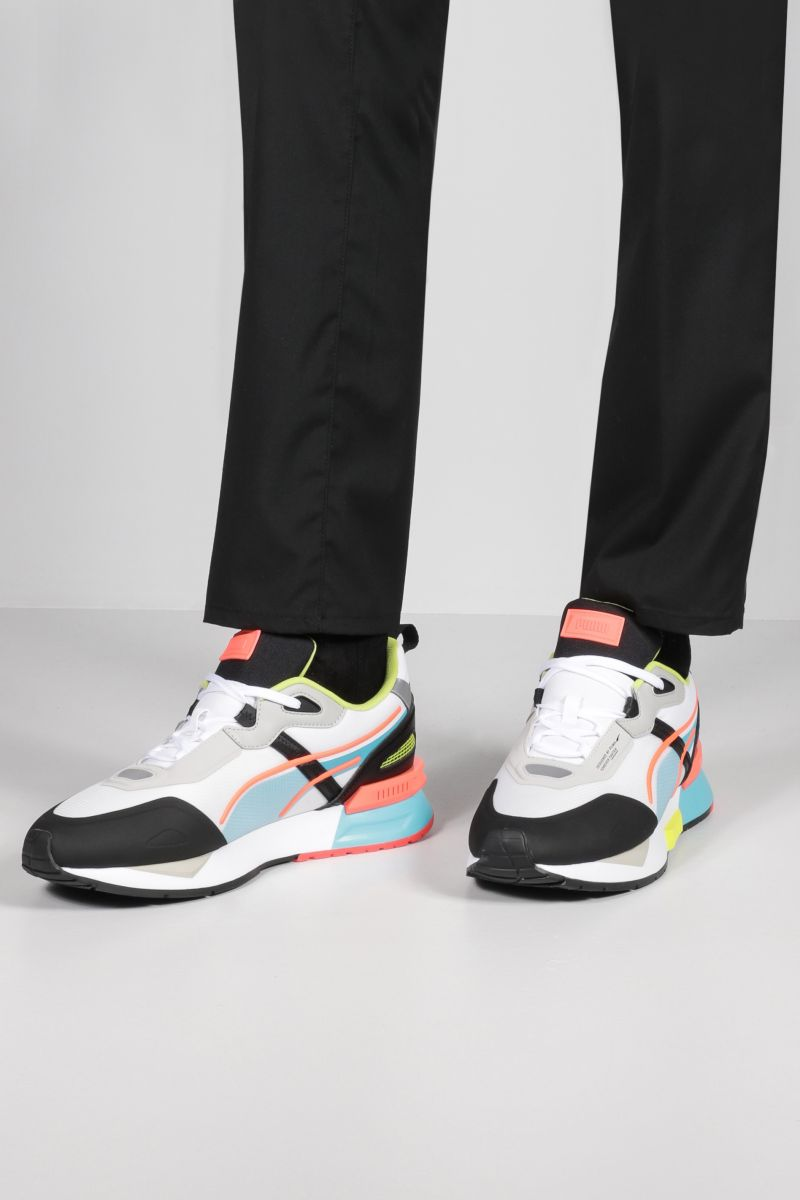 PUMA: Mirage Tech sneakers in fabric and mesh Color White_2