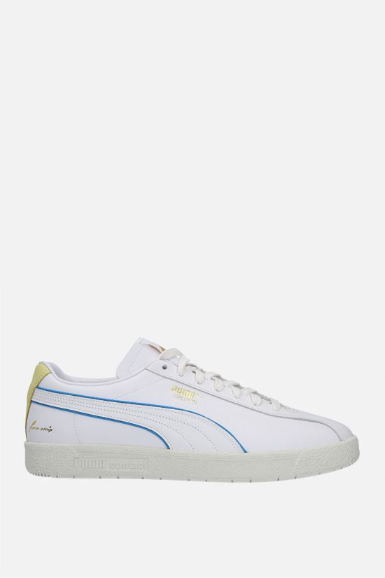 PUMA: Delphin Rudolf Dassler Legacy smooth leather sneakers Color White_1