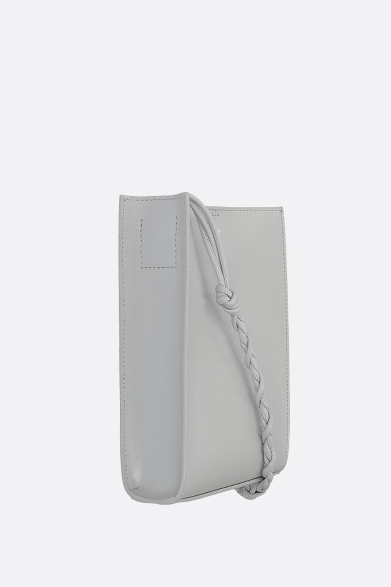 JIL SANDER: borsa a spalla Tangle small in pelle liscia_2