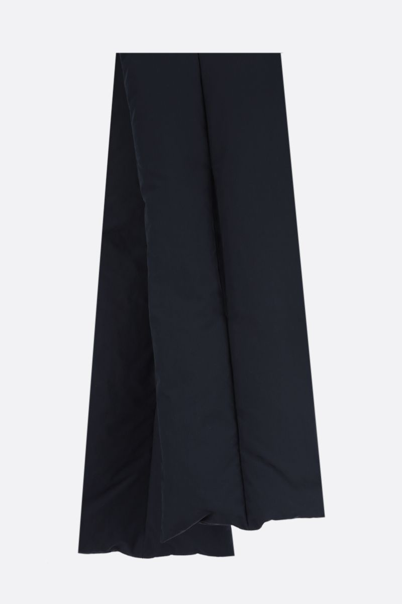 JIL SANDER: nylon padded scarf Color Blue_2