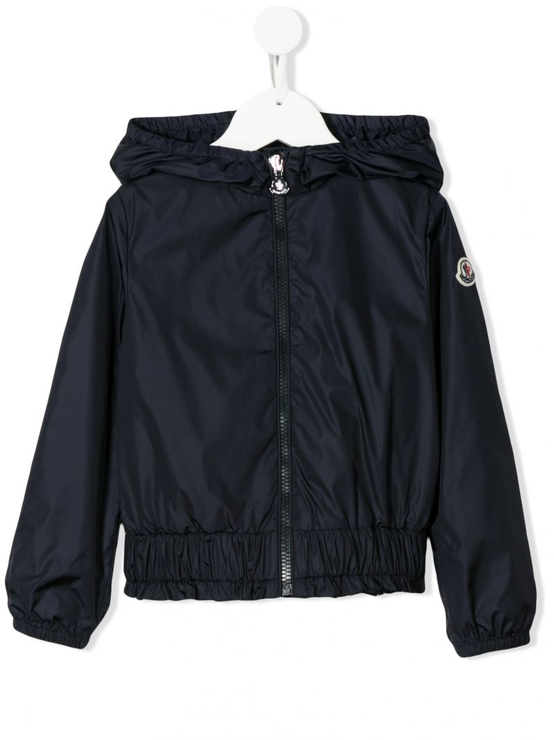 MONCLER KIDS: Erinette nylon windbreaker Color Blue_1