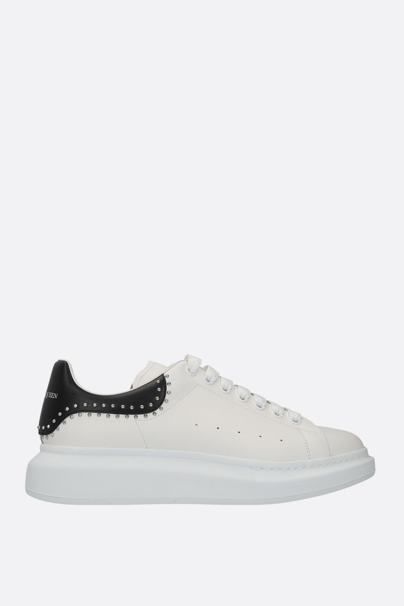 ALEXANDER McQUEEN: Oversize sneakers in Larry leather Color Multicolor_1