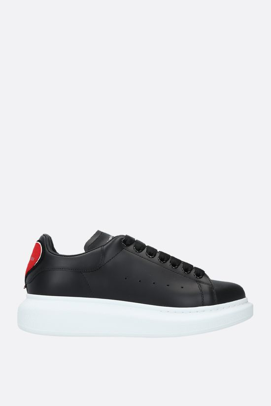 ALEXANDER McQUEEN: Oversize sneakers in Larry leather_1