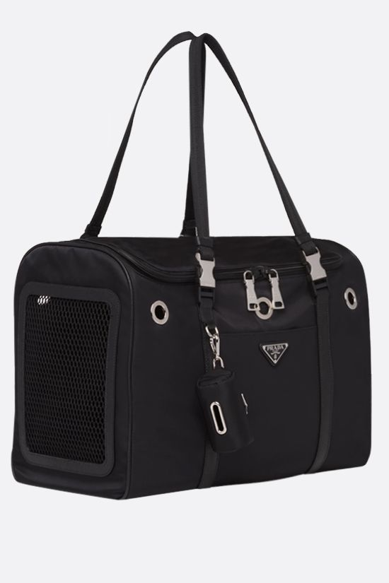 PRADA: Re-Nylon pet bag Color Black_2