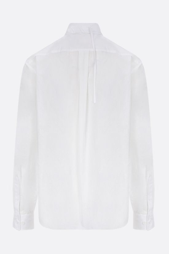 CRAIG GREEN: lace-embellished shirt Color White_2