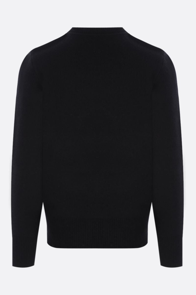 CRAIG GREEN: Hole wool pullover Color Black_2