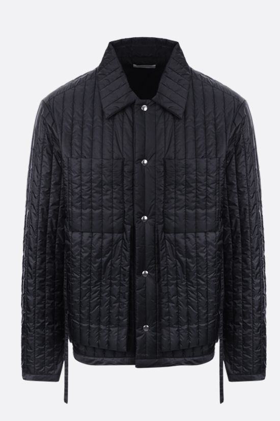 CRAIG GREEN: quilted nylon jacket Color Black_1