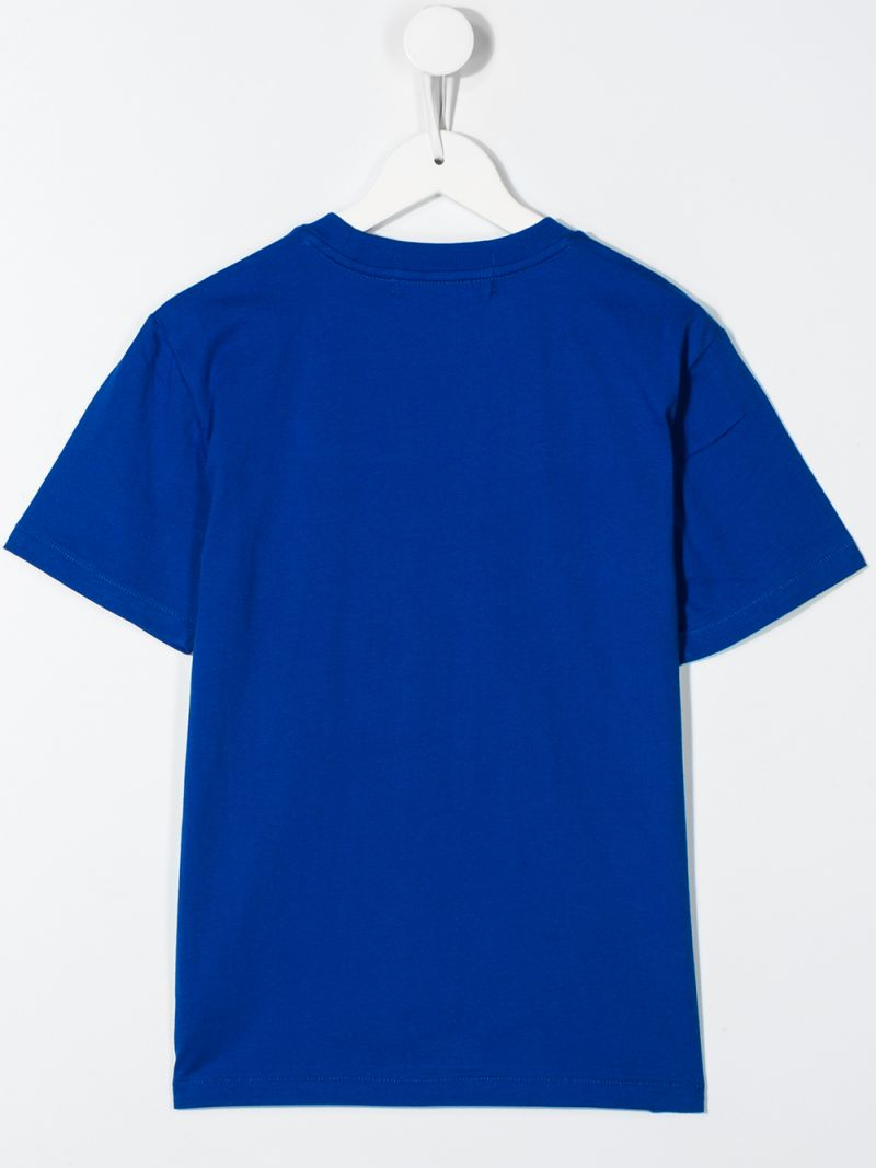 RALPH LAUREN KIDS: t-shirt Polo Sport in cotone Colore Blu_2