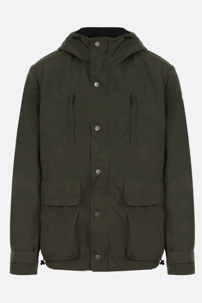 GRAMICCI: hooded nylon parka coat Color Green_1