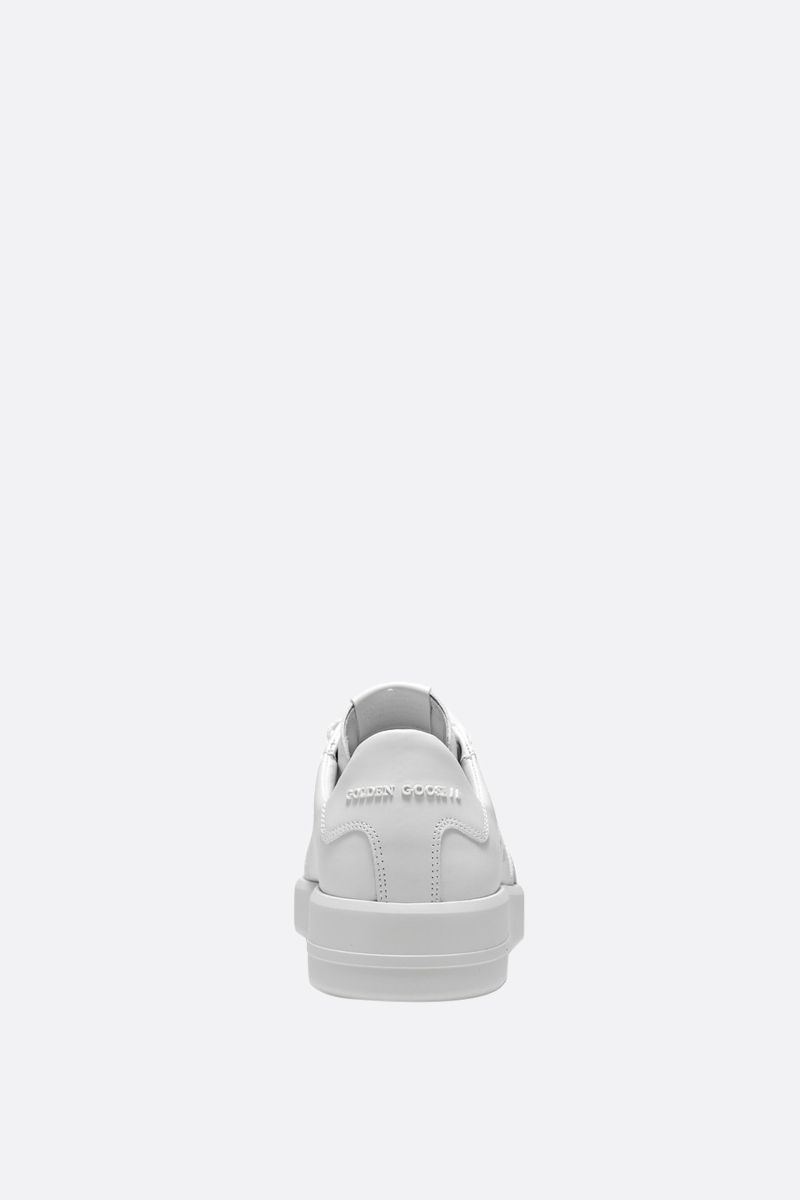GOLDEN GOOSE DELUXE BRAND: Pure-Star smooth leather sneakers Color White_3