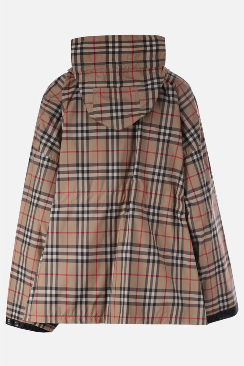 BURBERRY: Bacton nylon parka Color Brown_2
