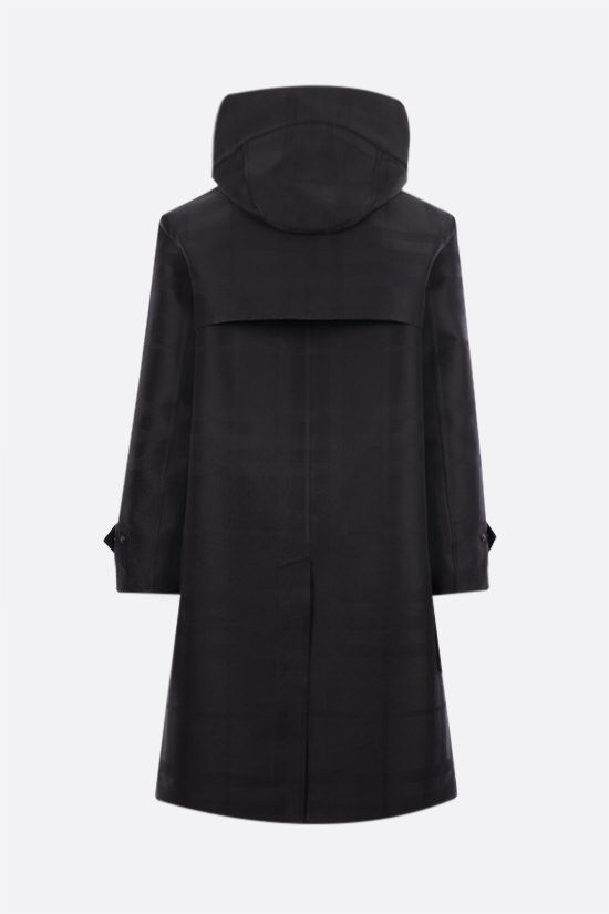 BURBERRY: Witham technical cotton parka Color Black_2