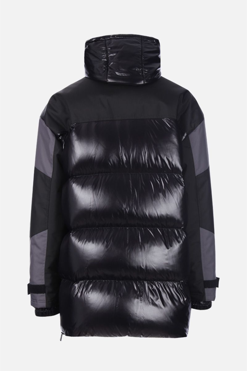 DSQUARED2: double-structure down jacket in technical fabric Color Grey_2