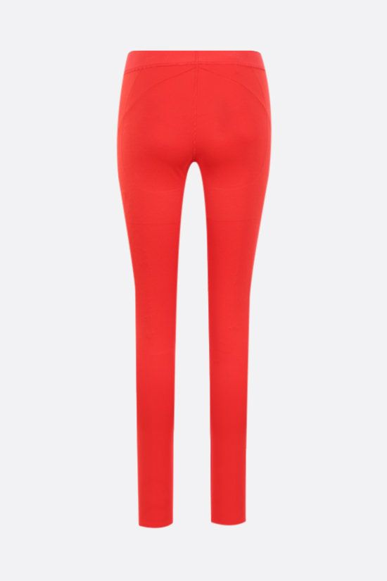 REEBOK X VICTORIA BECKHAM: Reebok Victoria Beckham technical jersey leggings Color Red_2