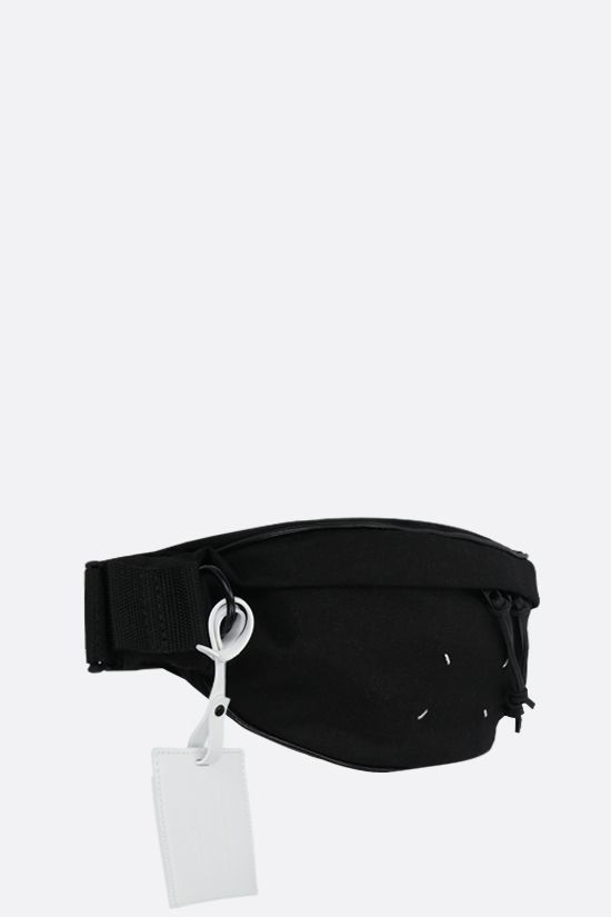 MAISON MARGIELA: 1CON nylon belt bag Color Black_2