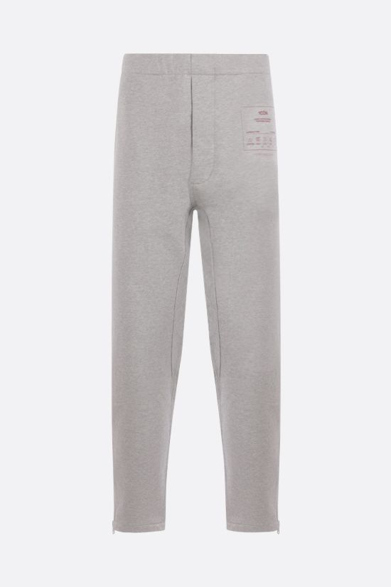 MAISON MARGIELA: 1CON cotton joggers Color Grey_1