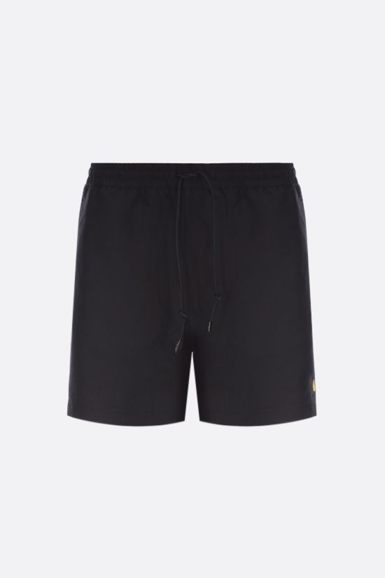 CARHARTT WIP: Chase nylon swim shorts Color Black_1
