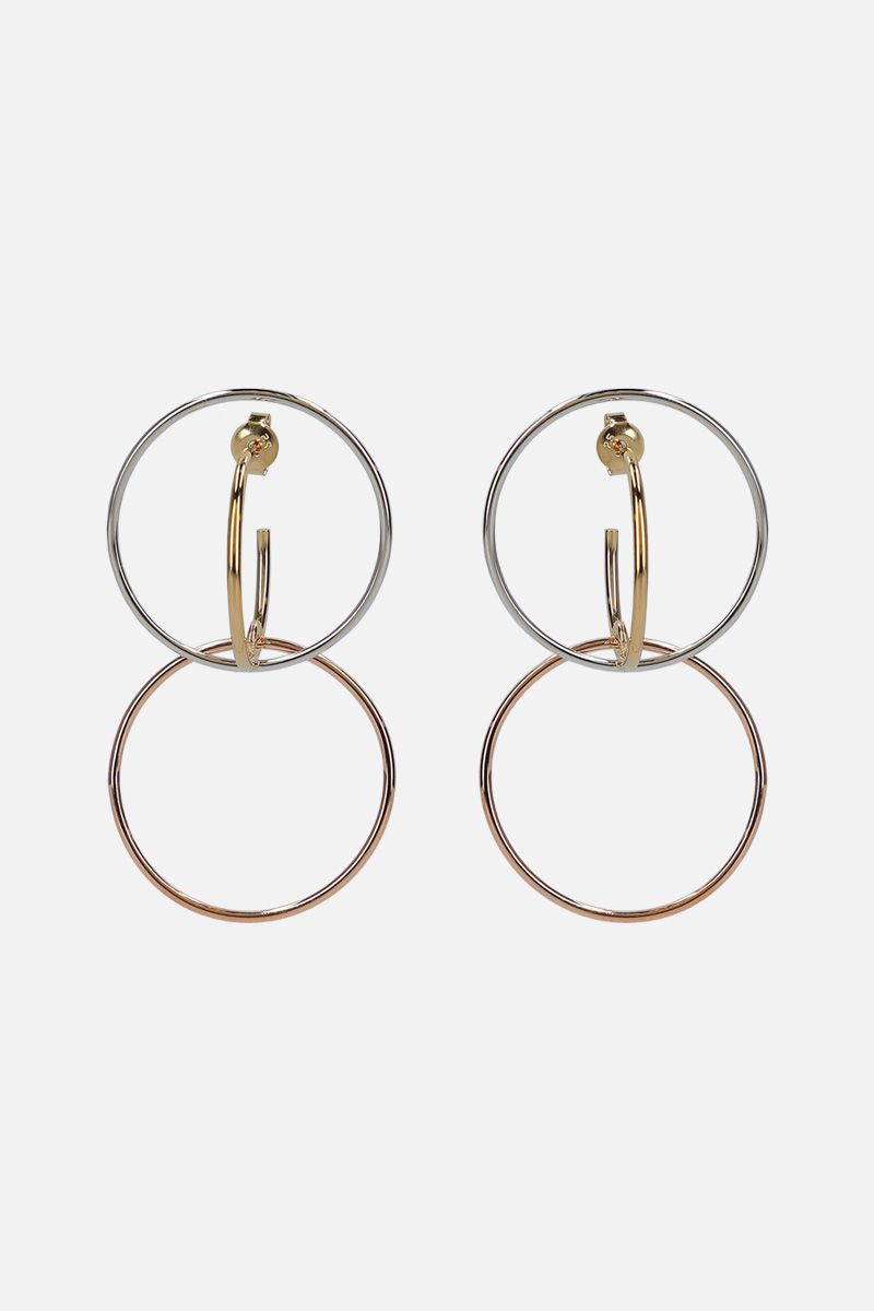 CHARLOTTE CHESNAIS: Galilea medium silver earrings Color Gold_1