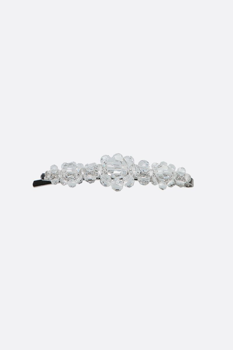SIMONE ROCHA: crystal-embellished brass hair clip Color Neutral_1