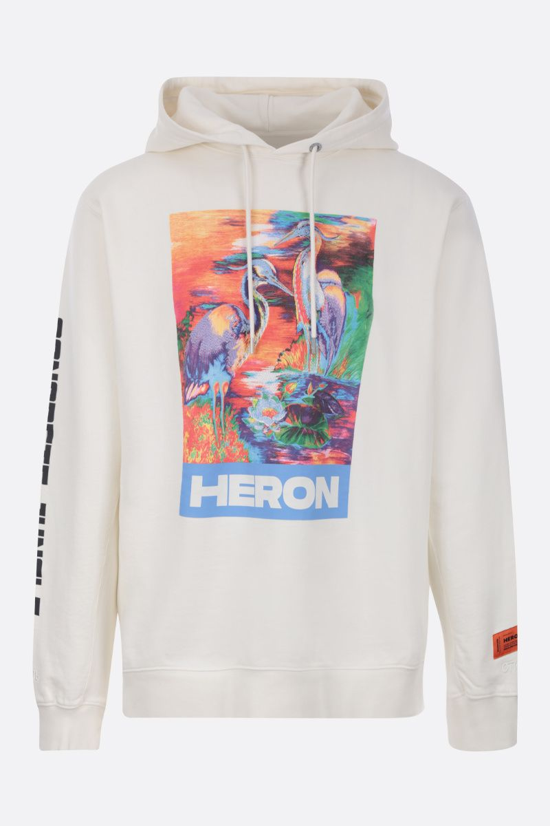 HERON PRESTON: Heron cotton hoodie Color Multicolor_1