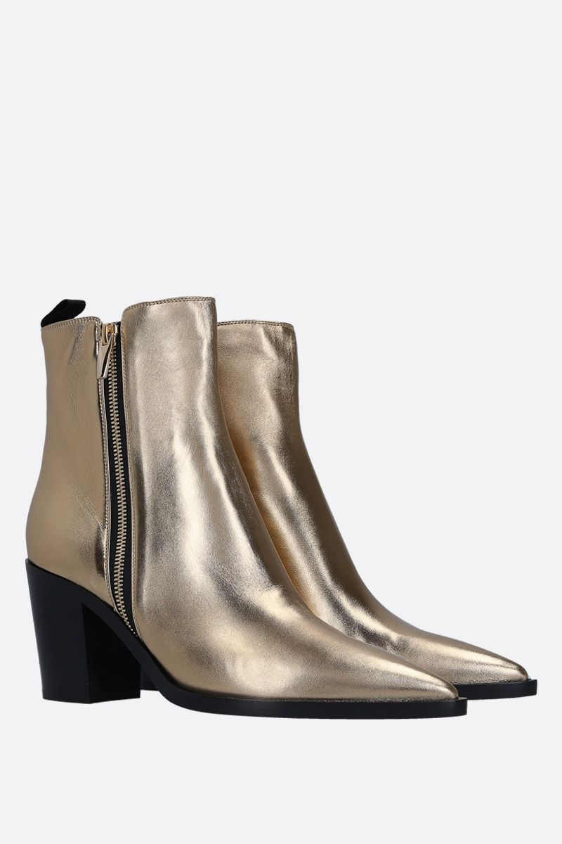 GIANVITO ROSSI: Mekong ankle boots in laminated leather_2