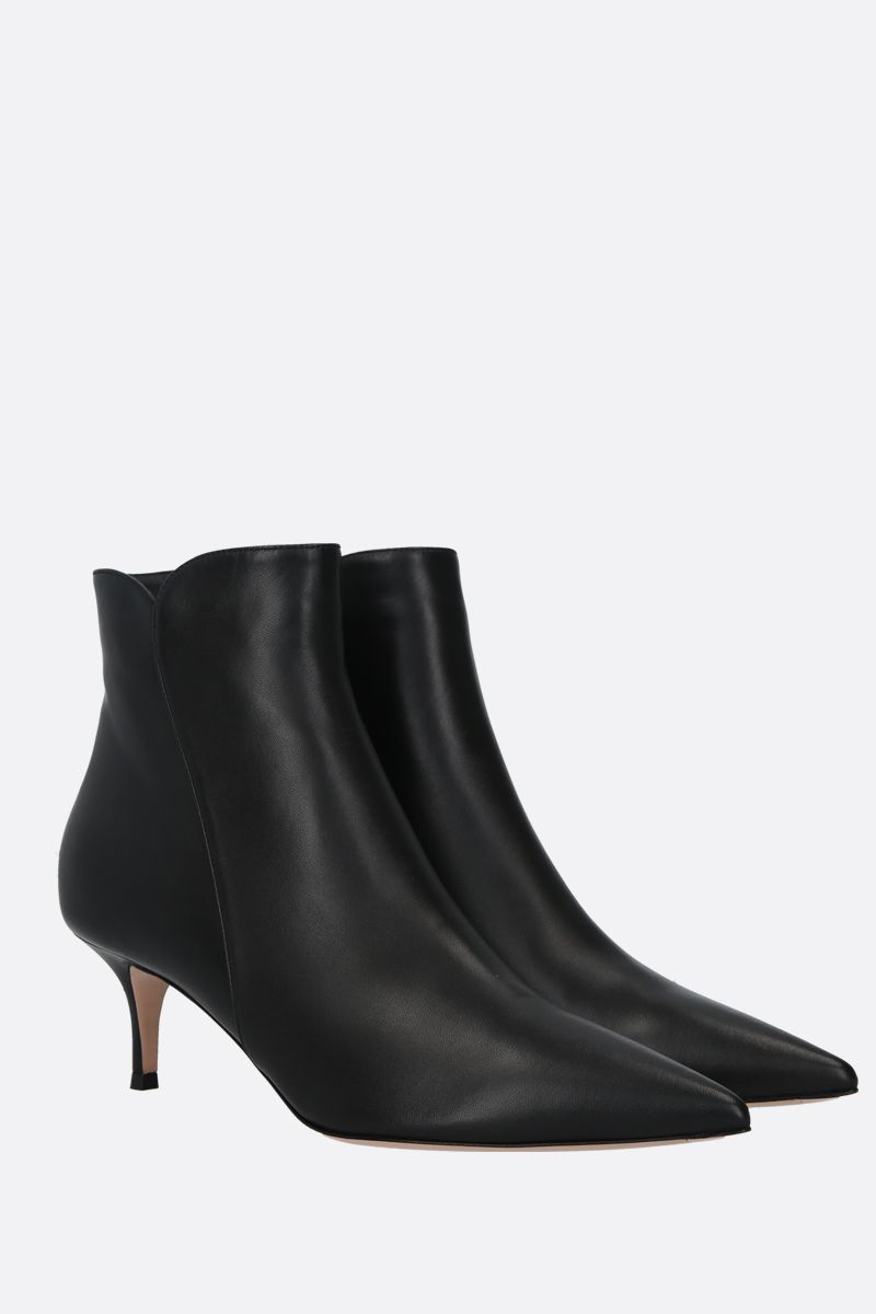 GIANVITO ROSSI: Landon soft nappa ankle boots Color Black_2