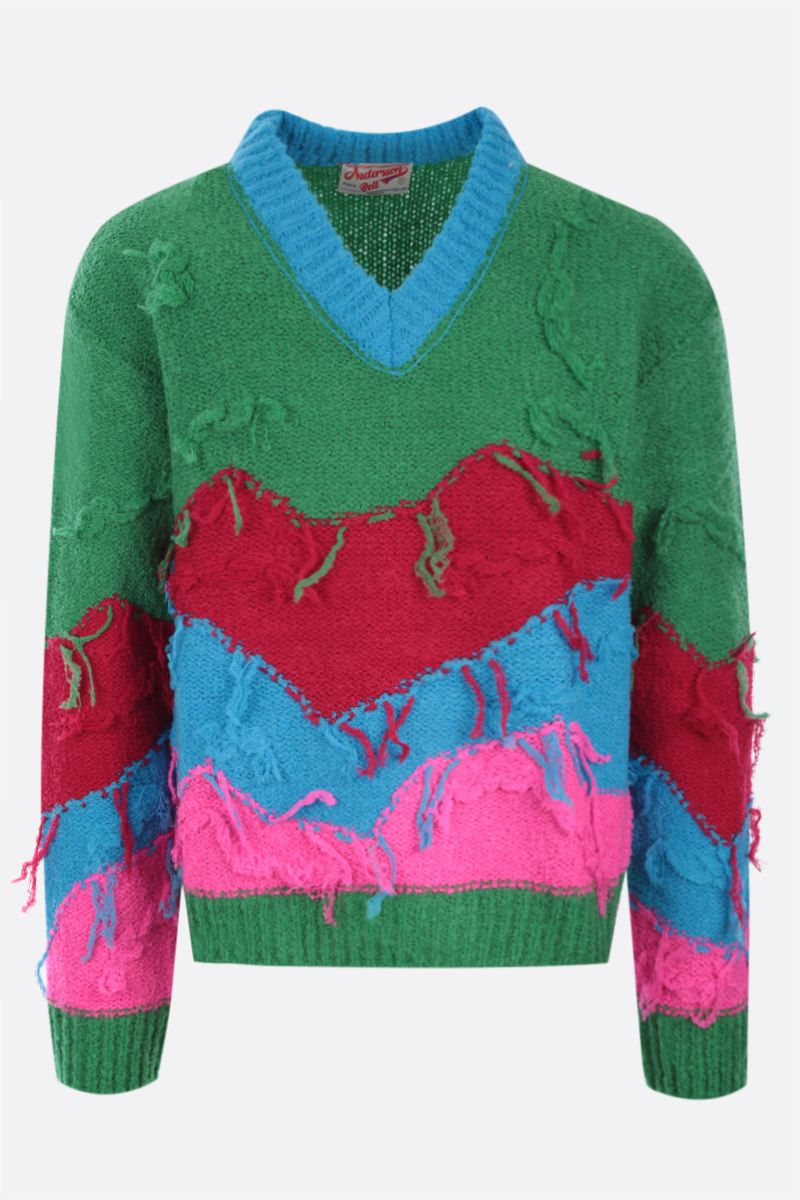 ANDERSSON BELL: pullover Mountain in misto lana Colore Green_1