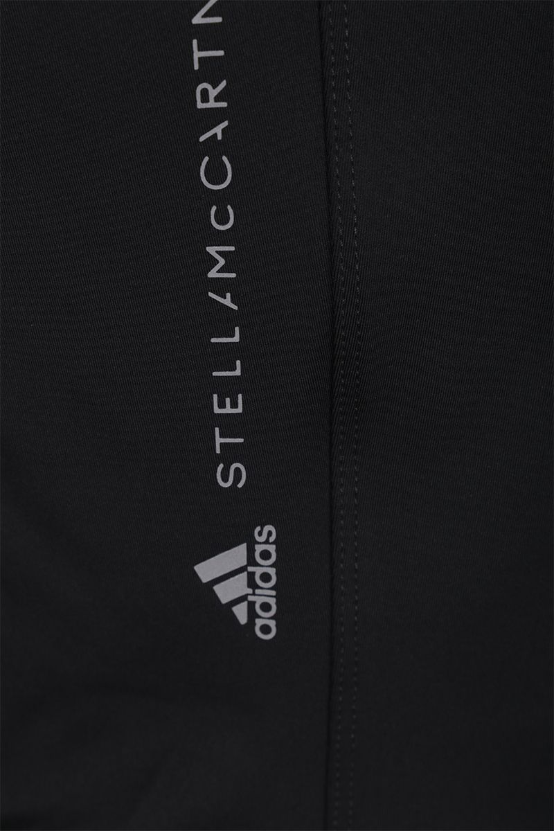 ADIDAS BY STELLA McCARTNEY: Essentials full-zip sweatshirt with mesh inserts Color Black_3
