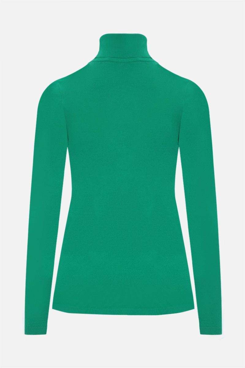 STELLA McCARTNEY: technical knit top Color Green_2
