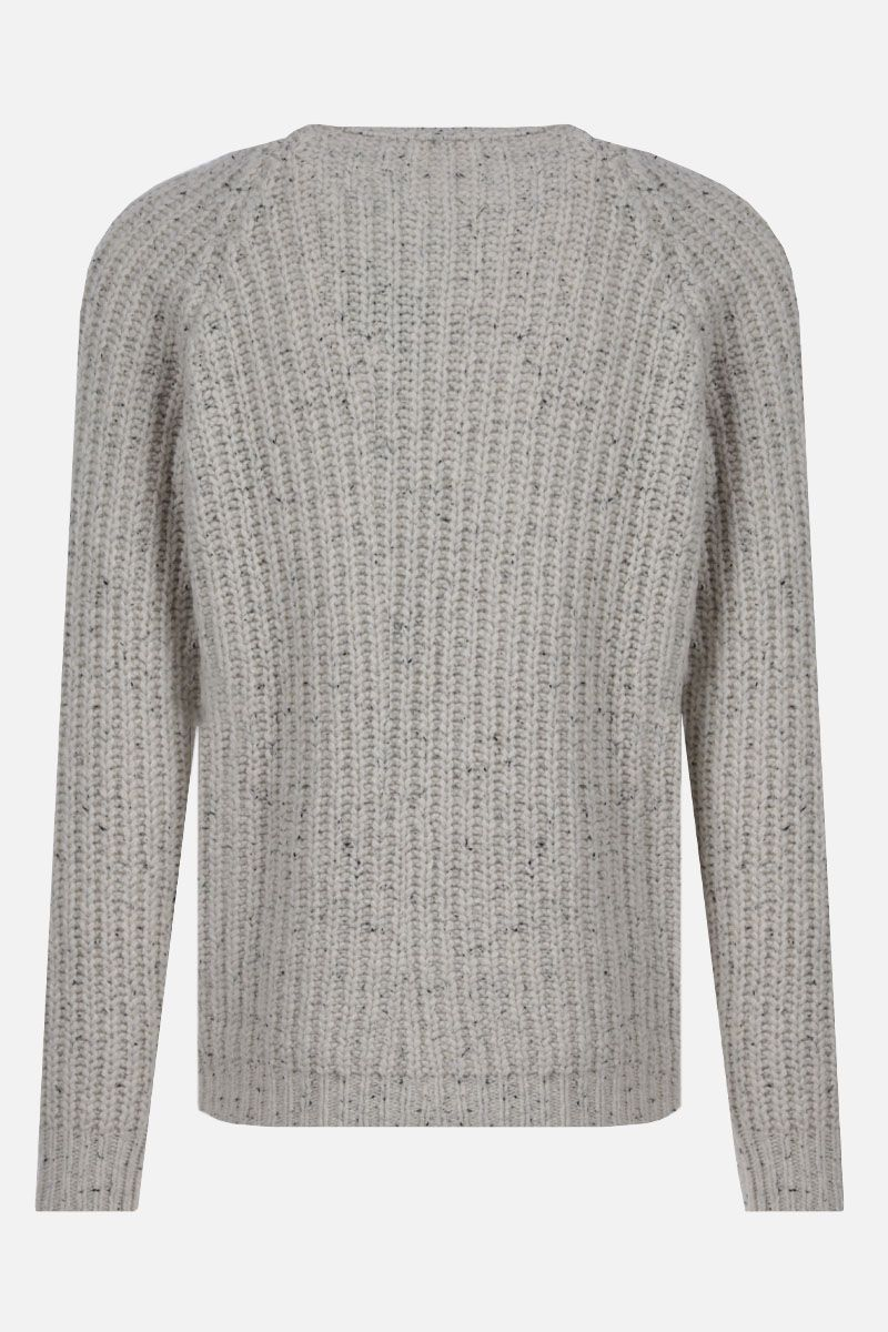 ROBERTO COLLINA: wool blend pullover Color White_2