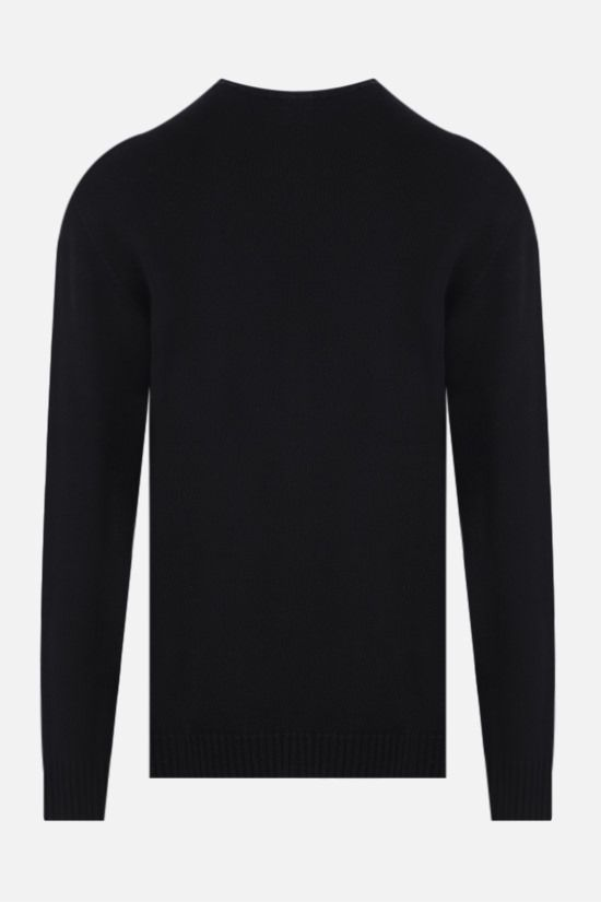 ROBERTO COLLINA: organic cotton pullover Color Black_2