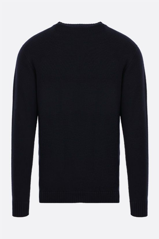 ROBERTO COLLINA: organic cotton pullover Color Blue_2