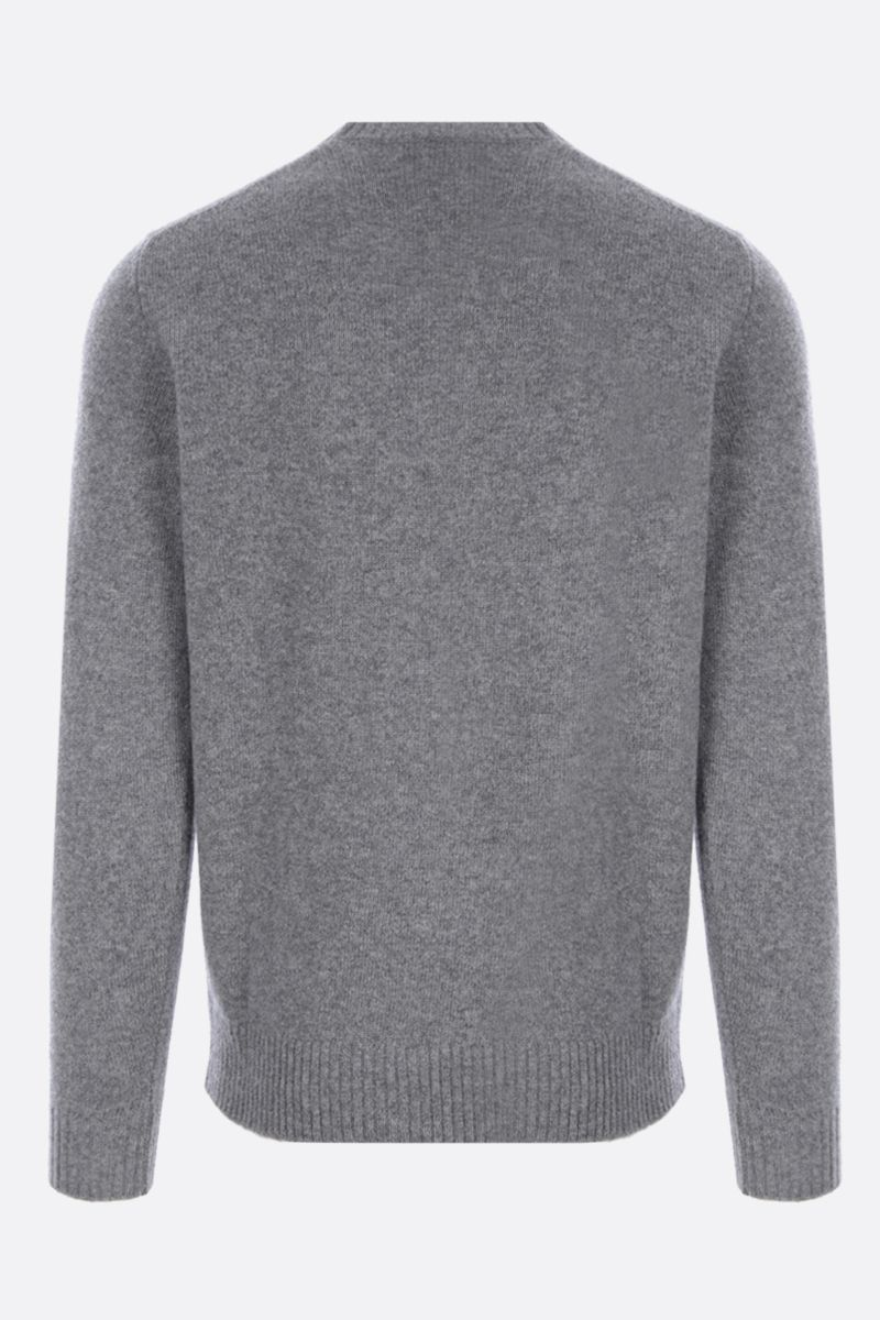 ROBERTO COLLINA: cashmere wool blend pullover Color Grey_2