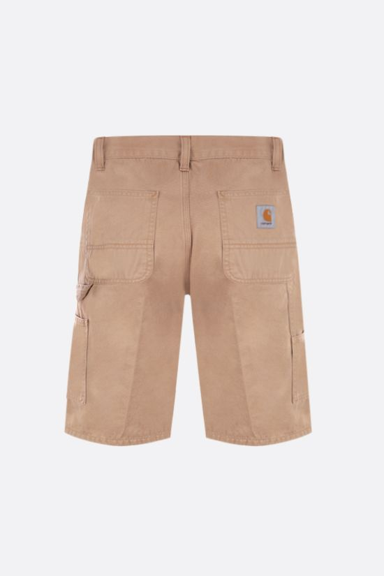 CARHARTT WIP: Ruck Single Knee cotton shorts Color Yellow_2